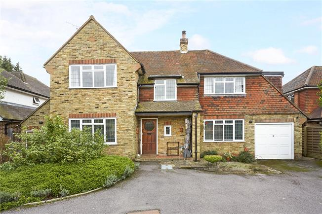 Guide Price £850,000, 4 Bedroom Detached House For Sale in North Holmwood, RH5