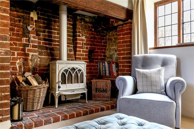 The REAL Rose Cottage from The Holiday: LIVING ROOM