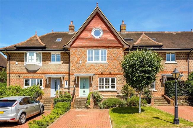 Guide Price £760,000, 4 Bedroom Terraced House For Sale in Surrey, RH4