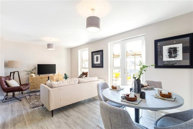 Guide Price £260,000, 1 Bedroom Flat For Sale in Surrey, RH4
