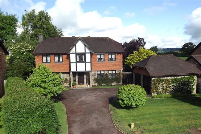Guide Price £875,000, 5 Bedroom Detached House For Sale in Dorking, Surrey, RH5