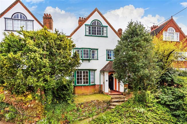 Guide Price £860,000, 5 Bedroom Semi Detached House For Sale in Dorking, RH4