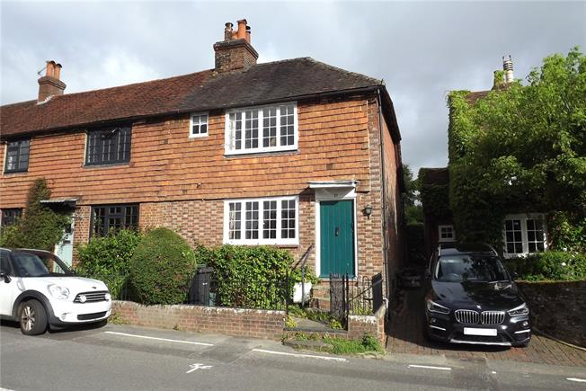 Guide Price £395,000, 2 Bedroom Terraced House For Sale in Dorking, Surrey, RH5