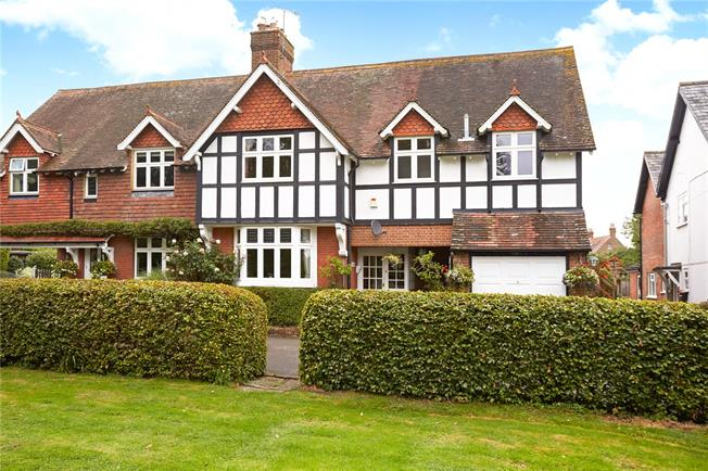 Guide Price £695,000, 5 Bedroom Semi Detached House For Sale in Ockley, RH5