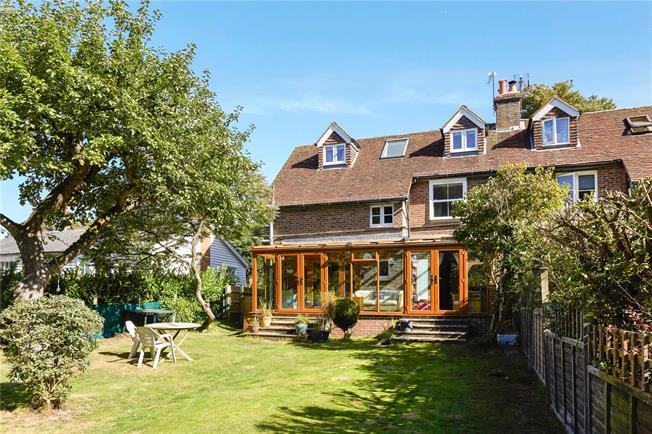 Guide Price £660,000, 4 Bedroom Semi Detached House For Sale in Abinger Common, RH5