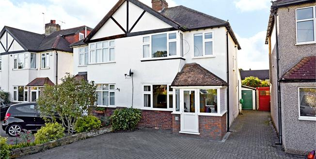 Guide Price £649,950, 3 Bedroom Semi Detached House For Sale in Esher, Surrey, KT10
