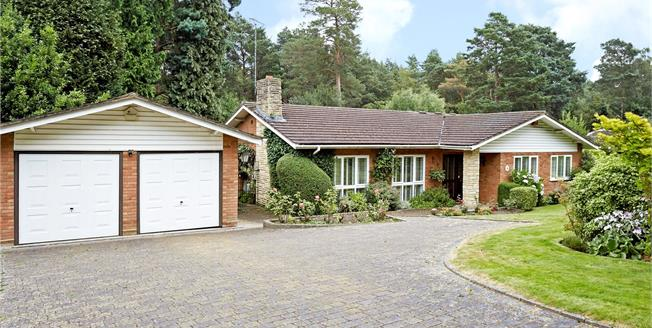 Guide Price £1,050,000, 3 Bedroom Bungalow For Sale in Cobham, KT11