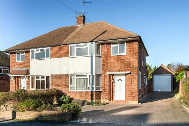 Asking Price £700,000, 3 Bedroom Semi Detached House For Sale in Esher, Surrey, KT10