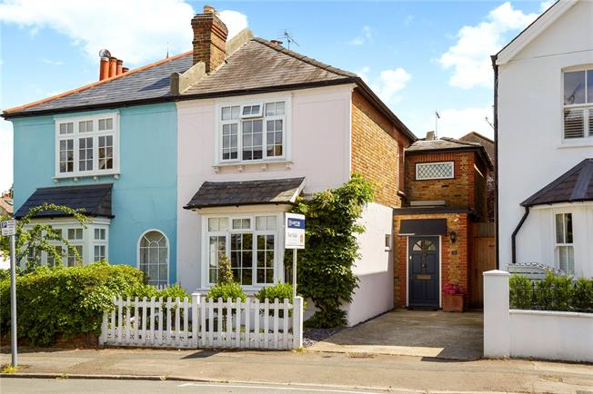 Asking Price £880,000, 3 Bedroom House For Sale in Surrey, KT10