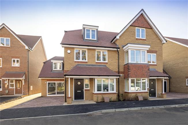Asking Price £725,000, 4 Bedroom House For Sale in Walton-on-Thames, Surrey, KT12