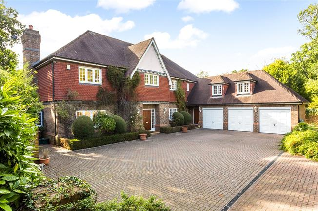 Asking Price £2,495,000, 5 Bedroom Detached House For Sale in Leatherhead, Surrey, KT22