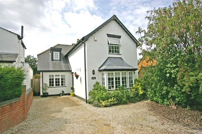 Guide Price £600,000, 3 Bedroom Detached House For Sale in Lower Bourne, GU10