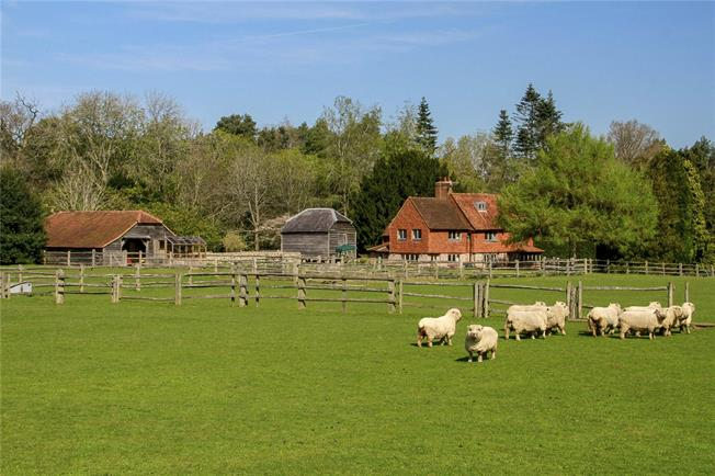 Guide Price £1,950,000, 4 Bedroom Land For Sale in Farnham, Surrey, GU10