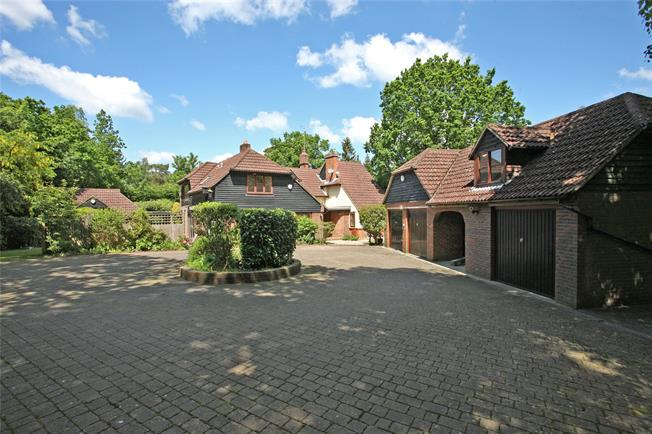 Guide Price £1,150,000, 5 Bedroom Detached House For Sale in Lower Bourne, GU10