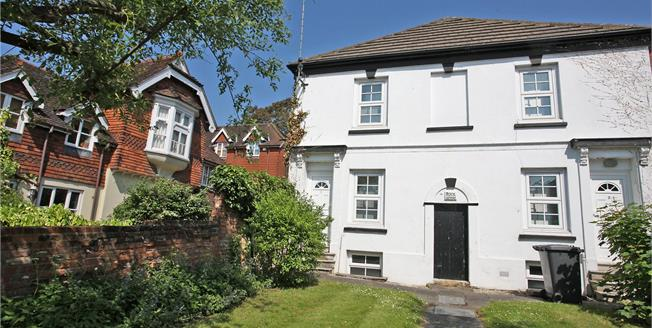 Guide Price £365,000, 2 Bedroom Semi Detached House For Sale in Farnham, GU9