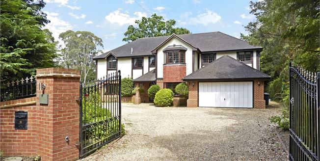 Guide Price £1,595,000, 5 Bedroom Detached House For Sale in Farnham, GU10