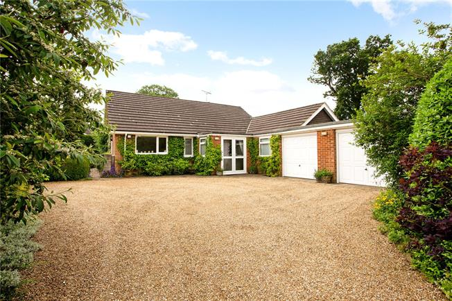 Guide Price £675,000, 3 Bedroom Bungalow For Sale in Farnham, Surrey, GU10