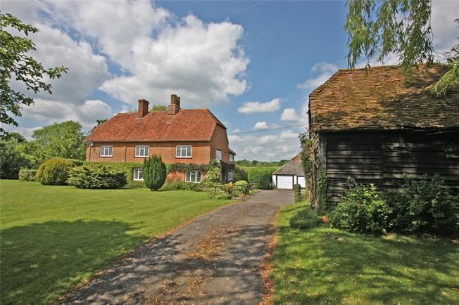 Guide Price £1,000,000, 4 Bedroom Detached House For Sale in Hook, Hampshire, RG29