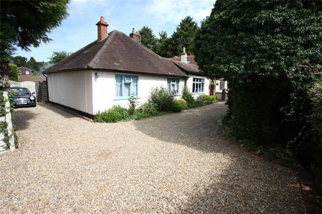 Offers in excess of £499,950, 4 Bedroom Bungalow For Sale in Farnham, GU9