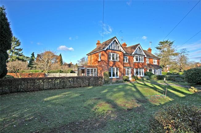 Guide Price £950,000, 4 Bedroom Semi Detached House For Sale in Farnham, GU9