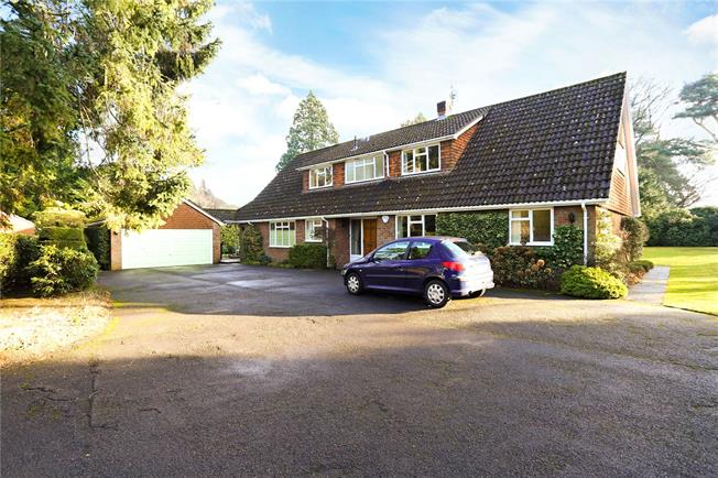 Guide Price £1,395,000, 5 Bedroom Detached House For Sale in Lower Bourne, GU10