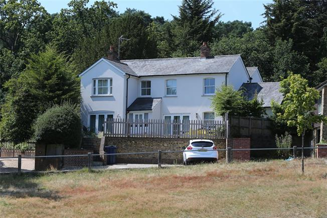 Guide Price £1,195,000, 4 Bedroom Detached House For Sale in Lower Bourne, GU10