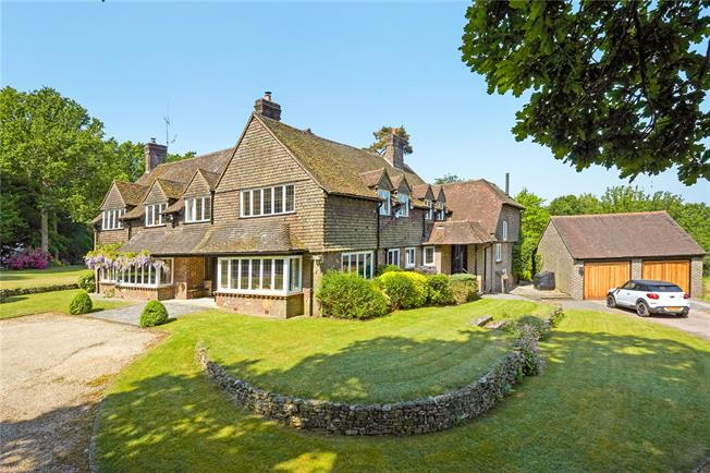 Guide Price £2,400,000, 7 Bedroom Detached House For Sale in Churt, GU10