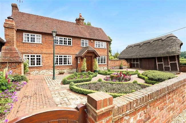 Guide Price £1,750,000, 5 Bedroom Detached House For Sale in Alton, Hampshire, GU34