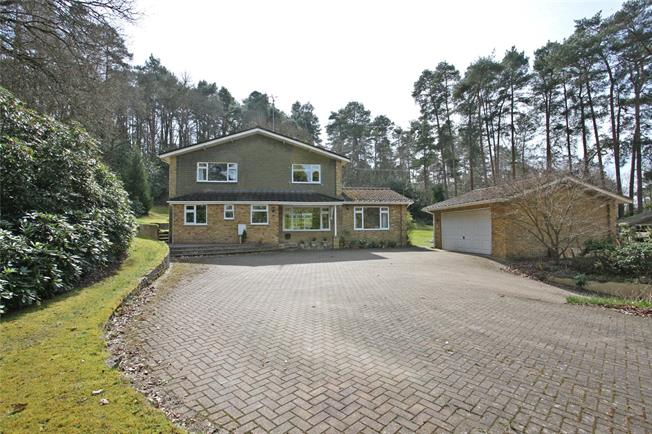 Guide Price £1,050,000, 4 Bedroom Detached House For Sale in Lower Bourne, GU10