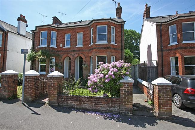 Guide Price £630,000, 3 Bedroom Semi Detached House For Sale in Surrey, GU9