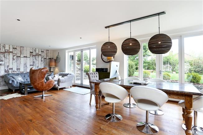 Guide Price £1,395,000, 6 Bedroom Semi Detached House For Sale in Lower Bourne, GU10