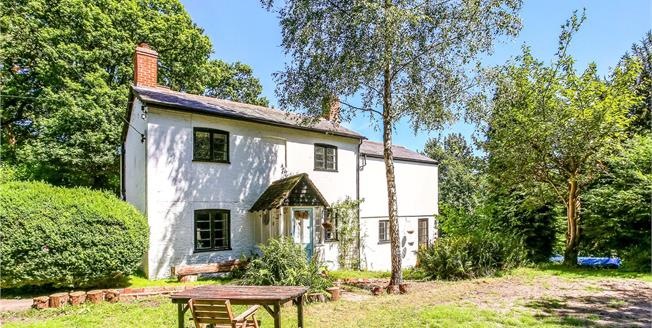 Guide Price £760,000, 4 Bedroom Detached House For Sale in Wrecclesham, GU10