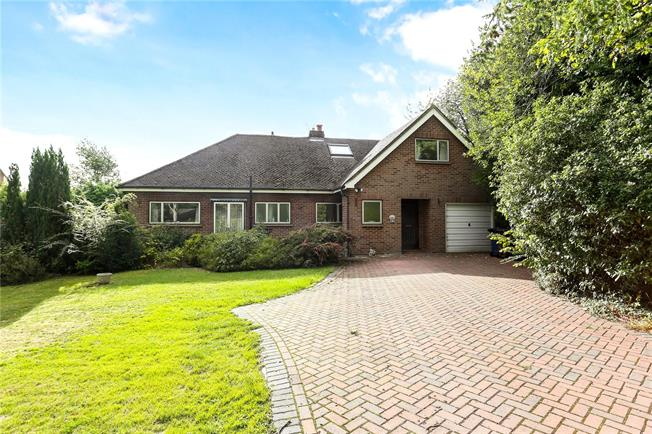 Guide Price £795,000, 5 Bedroom Bungalow For Sale in Surrey, GU9