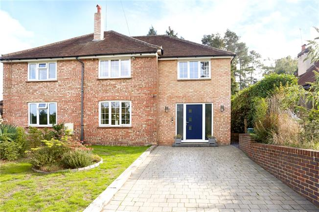 Guide Price £750,000, 4 Bedroom Semi Detached House For Sale in Wrecclesham, GU10