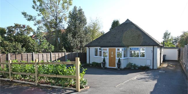 Guide Price £495,000, 3 Bedroom Bungalow For Sale in Surrey, GU9