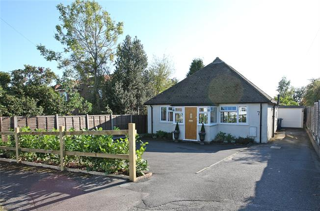 Guide Price £495,000, 3 Bedroom Bungalow For Sale in Surrey, GU9