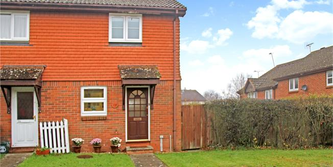 Guide Price £275,000, 2 Bedroom End of Terrace House For Sale in Wrecclesham, GU10