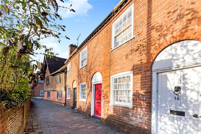Guide Price £375,000, 2 Bedroom Terraced House For Sale in Surrey, GU9