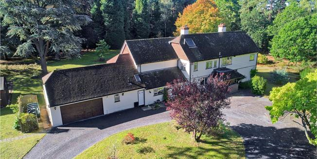 Guide Price £1,975,000, 6 Bedroom Detached House For Sale in Rushmoor, GU10