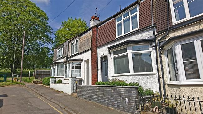 Guide Price £550,000, 3 Bedroom End of Terrace House For Sale in Farnham, GU9