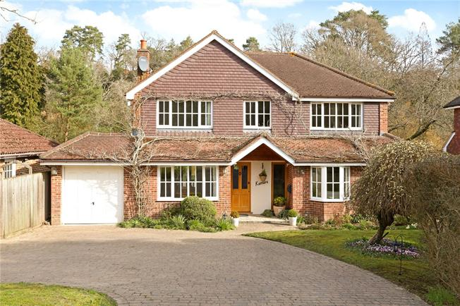 Guide Price £1,295,000, 5 Bedroom Detached House For Sale in Lower Bourne, GU10