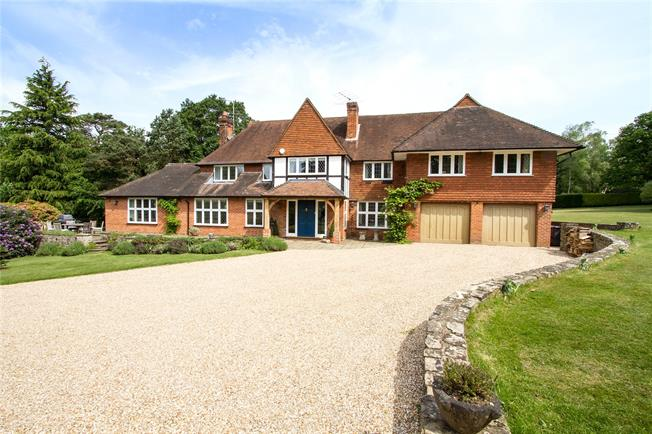 Guide Price £2,695,000, 6 Bedroom Detached House For Sale in Surrey, GU10