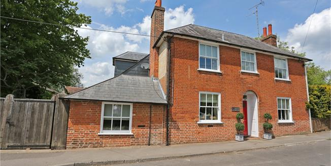 Guide Price £875,000, 4 Bedroom Detached House For Sale in Hampshire, RG29