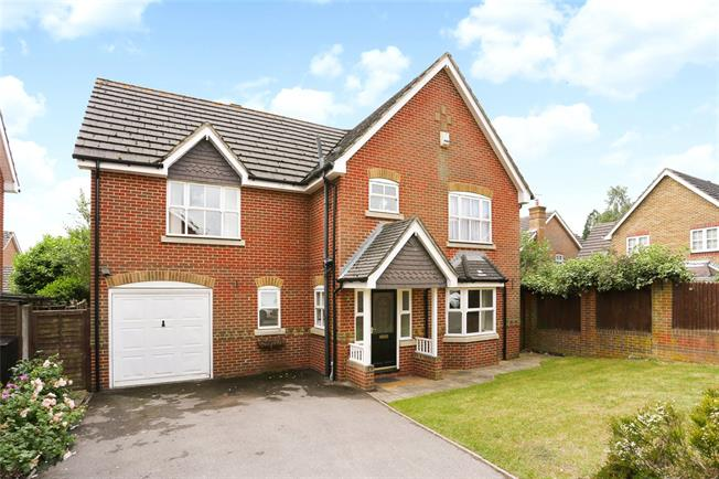 Guide Price £539,950, 4 Bedroom Detached House For Sale in Hampshire, GU11