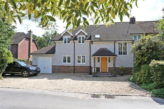 Guide Price £775,000, 4 Bedroom Semi Detached House For Sale in Lower Bourne, GU10