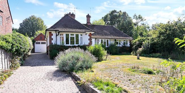 Guide Price £565,000, 3 Bedroom Bungalow For Sale in Surrey, GU9