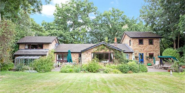 Guide Price £900,000, 4 Bedroom Detached House For Sale in Nr Camberley, Hampshire, GU17