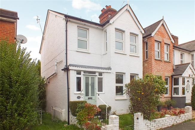 Guide Price £375,000, 3 Bedroom End of Terrace House For Sale in Camberley, GU15