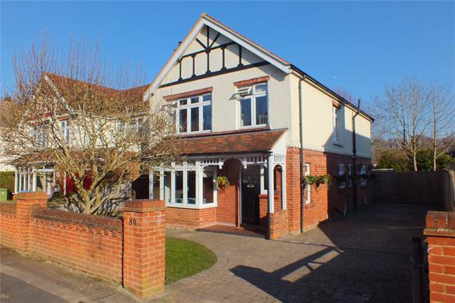 Guide Price £600,000, 4 Bedroom Detached House For Sale in Hampshire, GU14