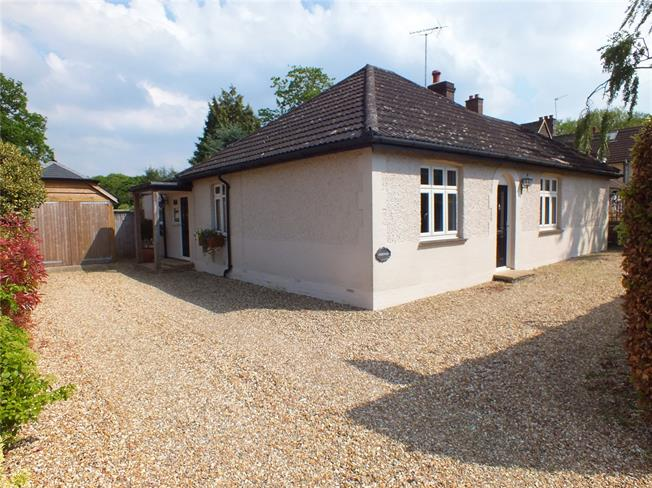 Offers in excess of £600,000, 3 Bedroom Bungalow For Sale in Church Crookham, GU52